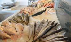 مندوبو وزارة الصحة أزالوا بسطات بيع سمك مخالفة في صيدا