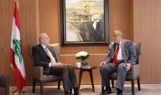 ميقاتي اطلع من كوبيش على المناقشات في الامم المتحدة بشأن الوضع في لبنان