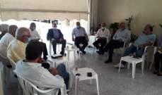 البزري: لإيجاد حلول لأزمات المواطنين في ظل غياب الحل السياسي