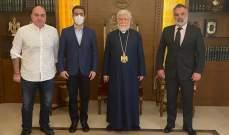 وفد من لبنان القوي زار كاثوليكوس الأرمن لبيت كيليكيا
