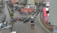 قطع الطريق الممتد من ساحة الدكوانة باتجاه الجديدة بسبب اشغال