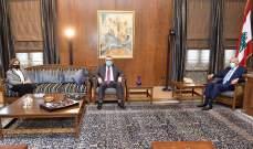 بري استقبل سفير بريطانيا والشيخ الخطيب والقاضي الياس والقاضية دلول