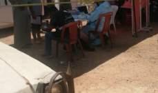 النشرة: فريق من وزارة الصحة اجرى فحوص PCR في مخيم الوزاني