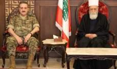 شيخ العقل: القضية الفلسطينية ستظل على رأس اهتمامات كل المخلصين في لبنان