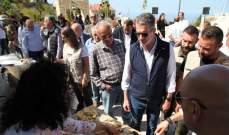 نصار من جبيل وبشعله: نعمل على تحديث القوانين التشريعية السياحية وعلى اللامركزية السياحية