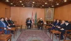 الخطيب التقى رابطة النواب السابقين: ليتحمل الجميع المسؤولية الوطنية