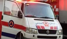 الدفاع المدني: جريحان نتيجة انقلاب سيارة رباعية الدفع على طريق عام فاريا