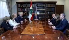 الرئيس ميشال عون التقى رئيس مجلس القضاء الاعلى سهيل عبود