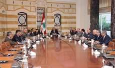 وصول رؤساء الاجهزة الامنية ووزير العدل لبعبدا للمشاركة بجلسة مجلس الدفاع