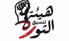 هيئة تنسيق الثورة اكدت رفض التفاوض مع السلطة قبل تشكيل حكومة انتقالية