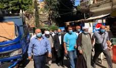 مكتب السيستاني في لبنان: بدء تقديم المساعدات للأهالي المتضررين ببيروت