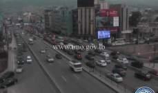 التحكم المروري: حركة مرور كثيفة من الكرنتينا وصولاً حتى نهر الموت