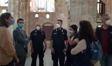 السفارة الايطالية: فرقة العمل متحدون من أجل التراث ببيروت للمساهمة في إعادة تأهيل الأحياء المتضررة