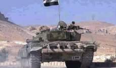 الاخبارية السورية: الجيش السوري سيطر على مئة بلدة وقرية بريفي حماة وإدلب