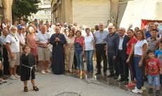 """وفد من 130 فرنسيا زار زحلة تلبية لدعوة المطران درويش إلى """"طاولة يوحنا الرحيم"""""""