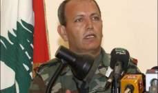 قائد الجيش يشارك بقداس في ذكرى استشهاد اللواء الركن فرانسوا الحاج