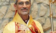 زيدان ممثلا الراعي: علينا القيام برد فعل لرفض الارهاب مسيحيين ومسلمين