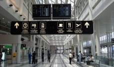 معلومات للـLBCI: المطار مستثنى من قرار اقفال البلاد لاسبوعين