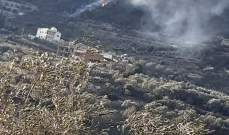 النشرة: إخماد حريق شب بين المصيلح ووادي الحجة