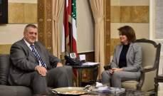 الحسن عرضت مع كوبيش للأوضاع السياسية الراهنة بخاصة مسألة تشكيل الحكومة