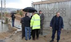 ملحم السوقي حمل مسؤولية فيضان نهر الغدير الى وزارة الطاقة والأشغال