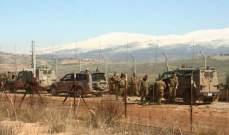 الجيش:جنديان اسرائيليان اجتازا الحدود محاولان خطف أحد الرعاة اللبنانيين