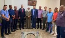 درويش استقبل وفد لجنة أهالي الطلاب اللبنانيين في الخارج