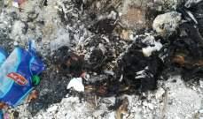 النشرة: العثور على جثة محروقة ومقطعة مقابل جسر عدلون في الزهراني
