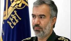 الحرس الثوري بايران: الحفاظ على الثورة الاسلامية لايرتبط ببقعة جغرافية