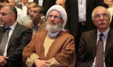 الشيخ يزبك: لدعم القوى الامنية والعسكرية وتوفير كل مستلزمات الحماية