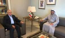 سليمان التقى الشامسي: لإعادة تصويب البوصلة باتجاه ترميم علاقات لبنان الدولية والخليجية