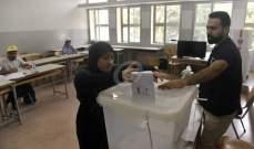 النشرة: نسبة الاقتراع في قضاء النبطية وصلت إلى 37%