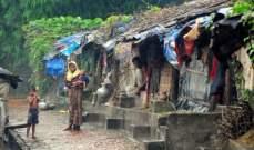 يونيسيف تحذر من ارتفاع مستوى التولث الجرثومي من المياه بمخيمات الروهينغا