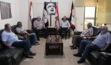 حمدان عرض مع وفد من قيادة حركة النهضة لآخر المستجدات