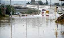 النشرة:اقفال طريق سوق الخضار بعين الحلوة بسبب الطوفان بعد هطول الامطار