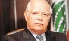 عصام فارس: لا خوف على المسيحيين ولا على لبنان لان شعبه جبار