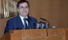 ميشال موسى: الرهان للإتفاق على قانون انتخاب على ربع الساعة الأخير