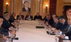 المستقبل: الحكومة لم توافق على زيارات رسمية للوزراء الى النظام السوري