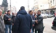 النشرة: اشكال بين شرطة بلدية صيدا وأحد أصحاب البسطات