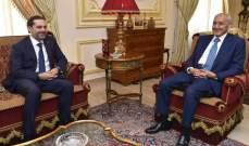 بري لعون واللبنانيين: الحريري او الفوضى!