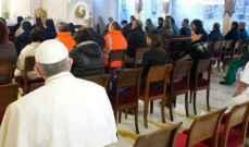 البابا إنتقد الفكر الواحد العلماني الرافض لتنوع الدين: حرية المعتقد حق