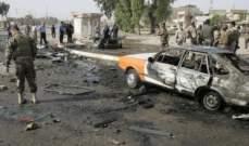 """مصدر لـ""""الاناضول"""": مقتل جندي عراقي وإصابة 8 بانفجار سيارة مفخخة ببغداد"""