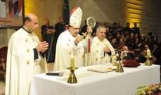 الاباتي طنوس نعمة تمنى ان ينعم لبنان بالامان والسلام: بالصلاة نخلص