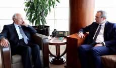 سفير بريطانيا يلتقي الصفدي في طرابلس ويبحث معه الوضع الإقتصادي