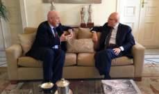 سلام التقى طوني كرم موفدا من جعجع وسفير هولندا مودعا