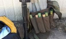 قيادة الجيش: دهم مزرعة ومنزل لاحد المطلوبين في محلة مجدلون بعلبك