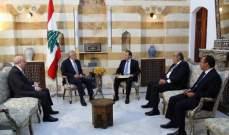 سليمان قلق لاستهداف الهرمل: سنتصدى لمحاولات نقل صراع سوريا الى لبنان