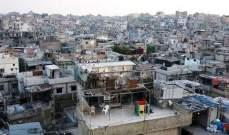اللاجئون الفلسطينيون يعتصمون بمخيم البرج احتجاجا على تقليص خدمات الاونروا