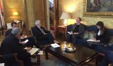 حتي ولودريان عقدا خلوة في باريس تناولت الإصلاحات اللازمة لتنفيذ سيدر
