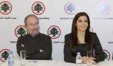جعجع وكيروز تابعا قضية تعويضات مزارعي التفاح مع المراجع المعنية